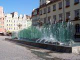 Fontanna na Wrocławskim Rynku