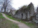 Zamek Tęczyn - przedzamcze